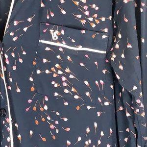 Victoria's Secret Intimates & Sleepwear - Victoria's Secret navy soft pajama long shirt gown